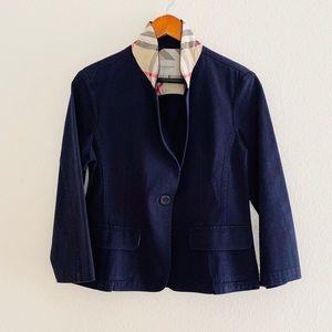 Burberry Navy Blazer Jacket SZ 6